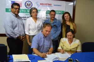 Firma de Acuerdo Proyecto Manabao Basura Cero