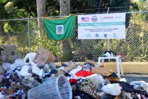 Clasificación de la basura en Manabao