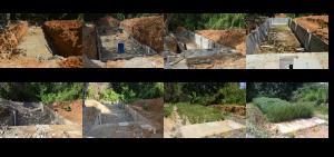 Construcción de La Trinchera