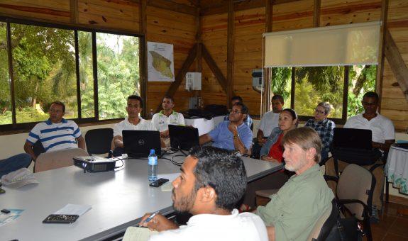 Reunión de Informe de Avances de los Proyectos Ejecutados en Inversión REDDOM en el Marco del Feed The Future del Programa de Clima y Agricultura de USAID.