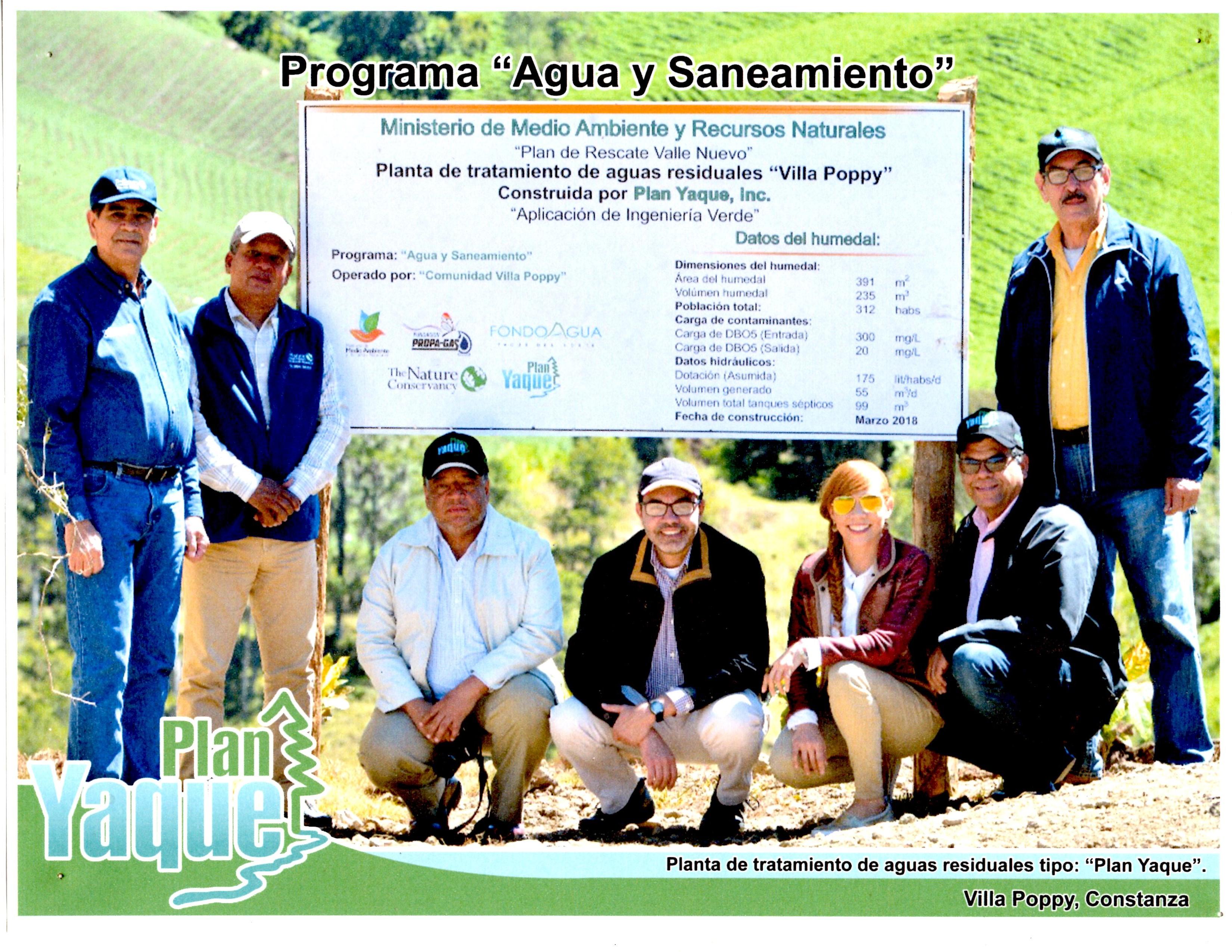 """Construcción Planta de Tratamiento de Aguas Residuales """"Villa Poppy"""""""