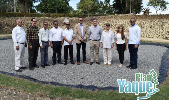 Inauguración planta de tratamiento de aguas residuales