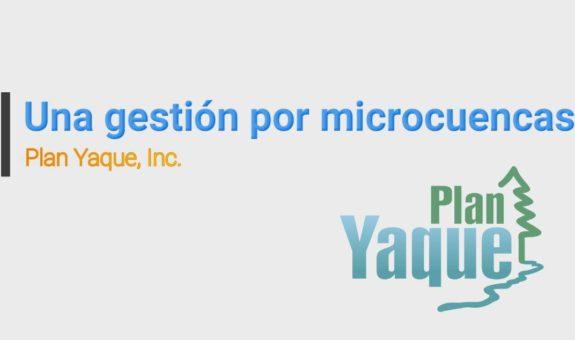 Una Gestión por Microcuencas
